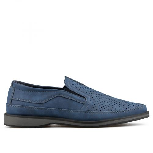 мъжки ежедневни обувки сини 0136976