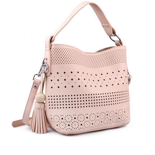 дамска ежедневна чанта розова 0138173