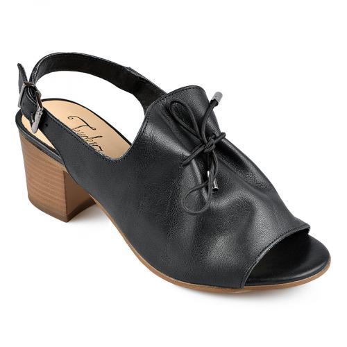 дамски елегантни сандали черни 0138455