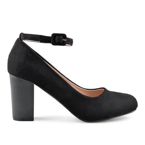 дамски елегантни обувки черни 0139141
