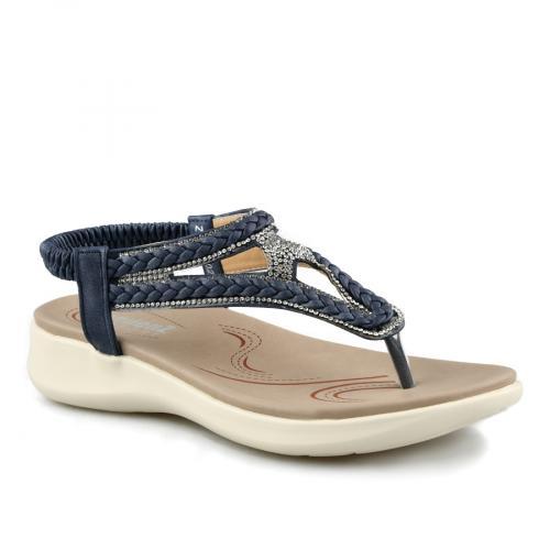 дамски ежедневни сандали сини 0140791