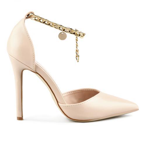 дамски елегантни сандали бежови 0143237