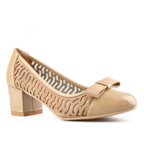 дамски елегантни обувки бежови 0143300