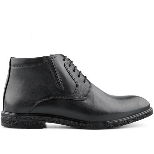 мъжки елегантни боти черни 0139546