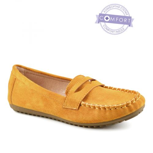 дамски ежедневни обувки жълти 0140362