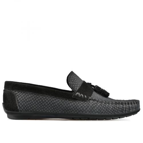 мъжки ежедневни обувки черни 0138270