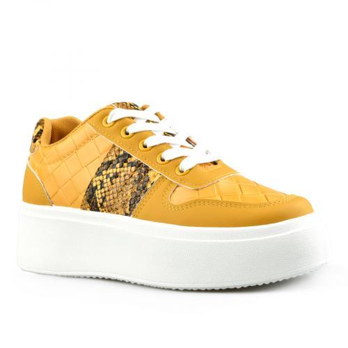 дамски ежедневни обувки жълти 0142791