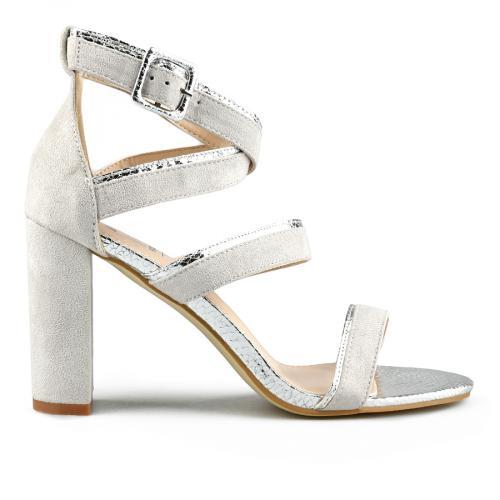 дамски елегантни сандали сиви 0144363
