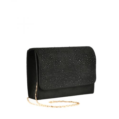 дамска елегантна чанта черна 0139858