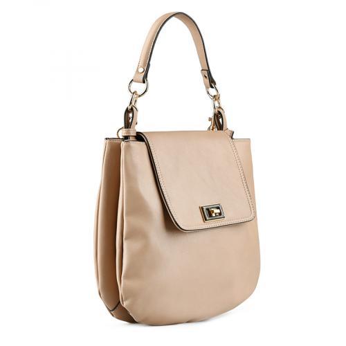 дамска ежедневна чанта бежова 0143532
