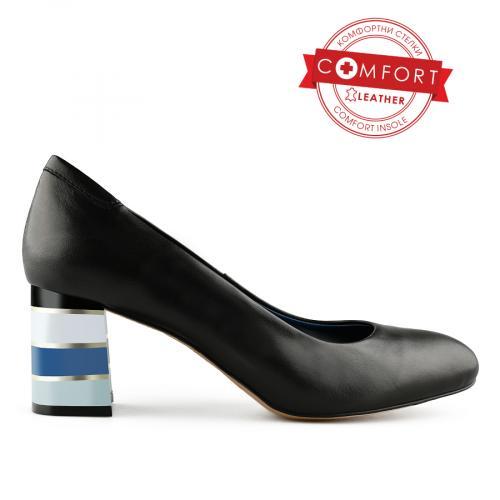 дамски елегантни обувки черни 0141118