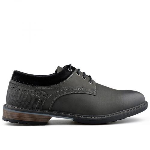 мъжки ежедневни обувки черни 0139073
