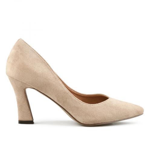 дамски елегантни обувки бежови 0141687