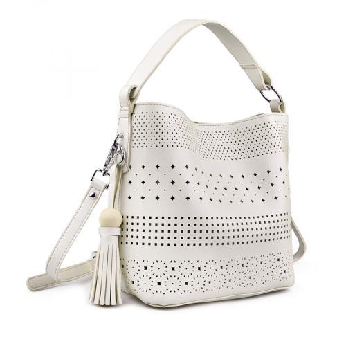 дамска ежедневна чанта бяла 0141093