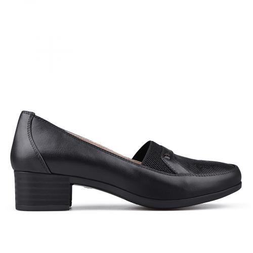 дамски ежедневни обувки черни 0133688