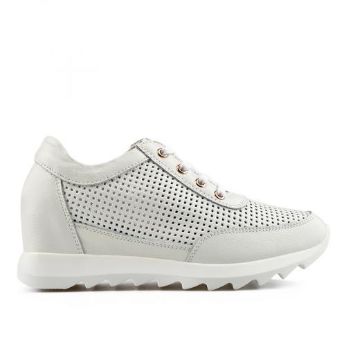 дамски ежедневни обувки бели 0136496