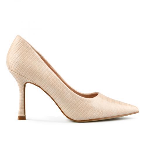 дамски елегантни обувки бежови 0143215