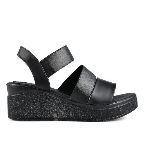 дамски ежедневни сандали черни 0138533
