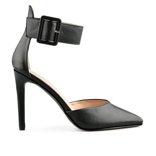 дамски елегантни сандали черни 0140460