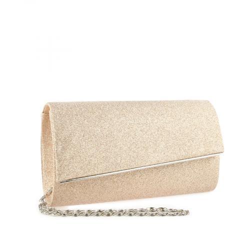 дамска елегантна чанта бежова 0140896