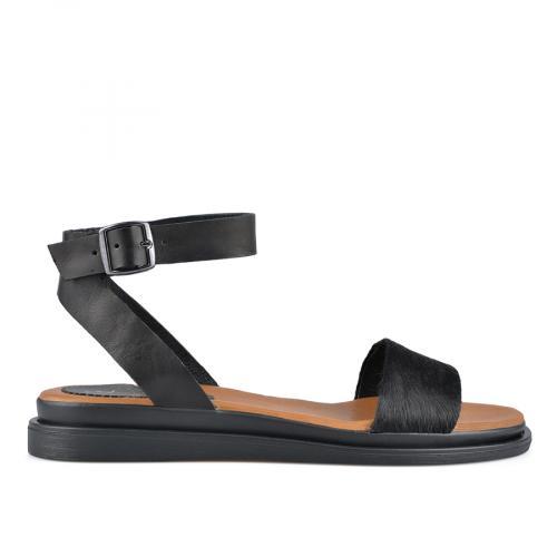 дамски ежедневни сандали черни 0138537