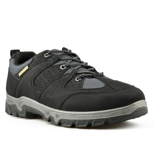 мъжки ежедневни обувки черни 0144862