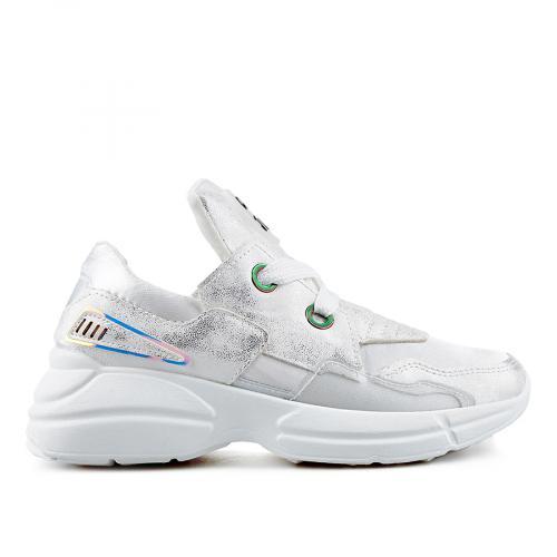 дамски ежедневни обувки бели 0136861