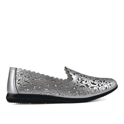 дамски ежедневни обувки сребристи 0137215