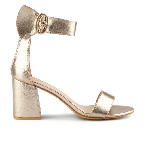 дамски елегантни сандали златисти 0143255
