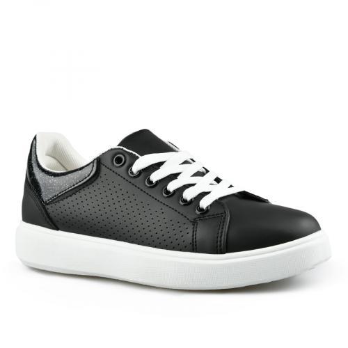 дамски ежедневни обувки черни 0142695