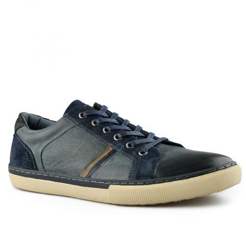 мъжки ежедневни обувки сини 0140740