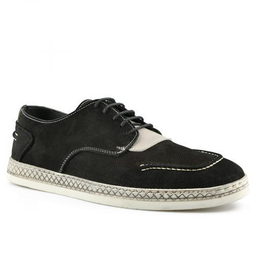 мъжки ежедневни обувки черни 0141207