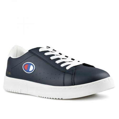 мъжки ежедневни обувки сини 0142634
