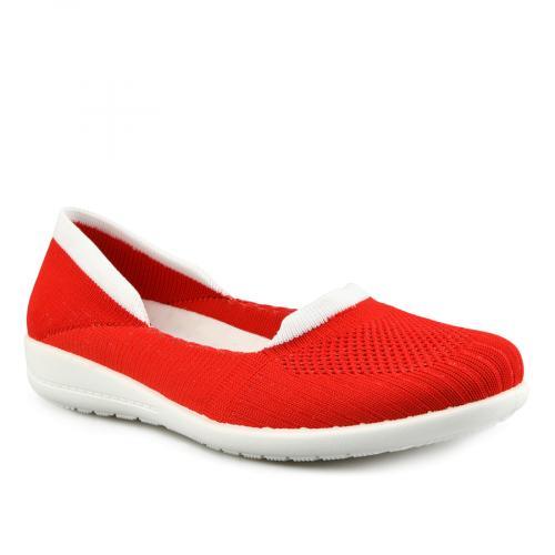 дамски ежедневни обувки червени 0142018