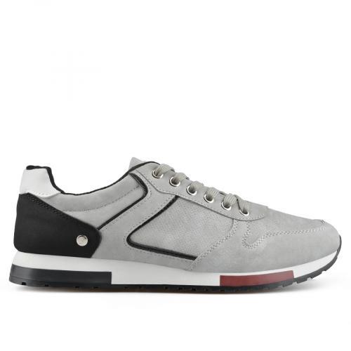мъжки ежедневни обувки сиви 0136910