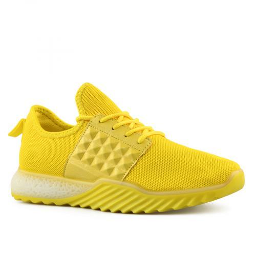 дамски ежедневни обувки жълти 0140084