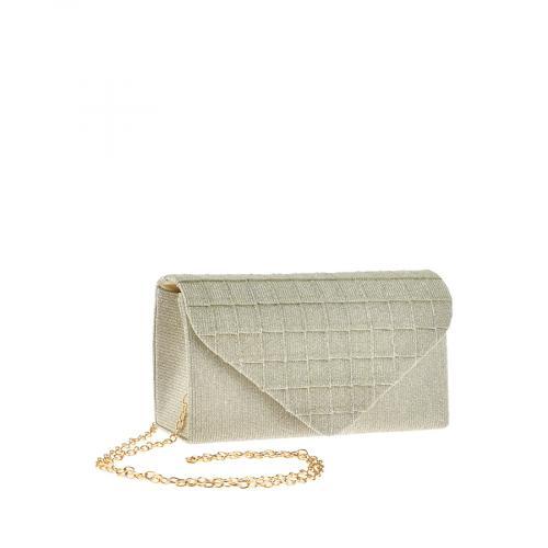 дамска елегантна чанта златиста 0143793