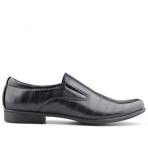 мъжки елегантни обувки тъмно сини 0139072