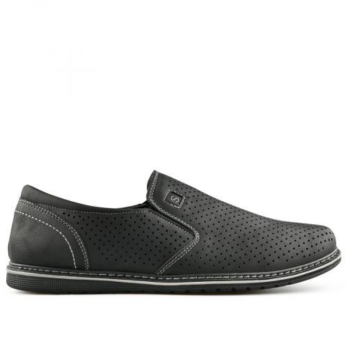 мъжки ежедневни обувки черни 0140273