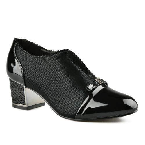 дамски елегантни обувки черни 0141428