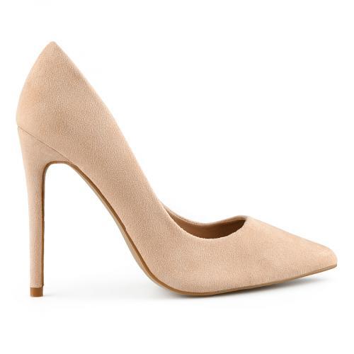 дамски елегантни обувки бежови 0141046