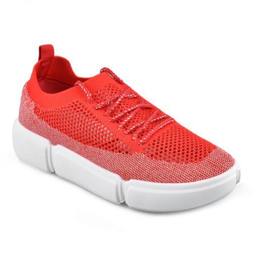 дамски ежедневни обувки червени 0136831
