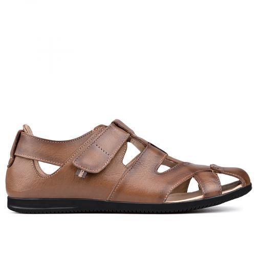 мъжки сандали кафяви 0131363
