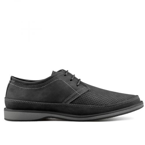 мъжки ежедневни обувки черни 0136981