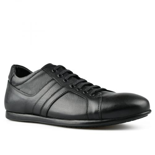 мъжки ежедневни обувки черни 0144271