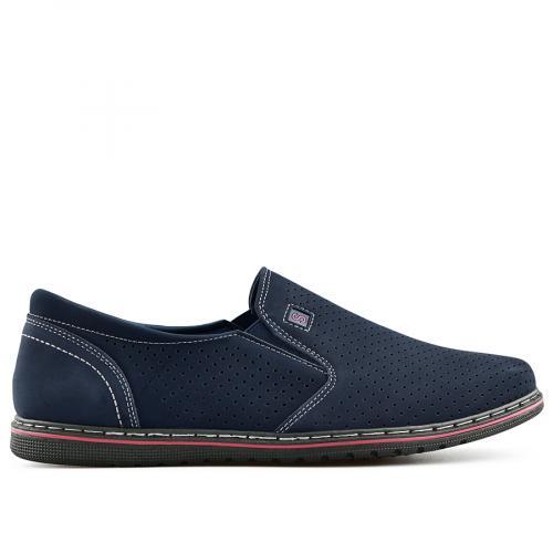 мъжки ежедневни обувки сини 0140274