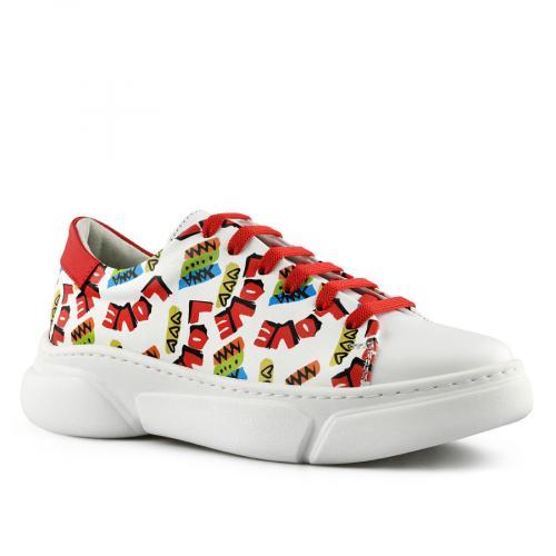 дамски ежедневни обувки бели 0141166