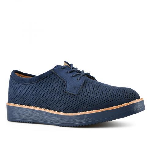 дамски ежедневни обувки сини 0143449