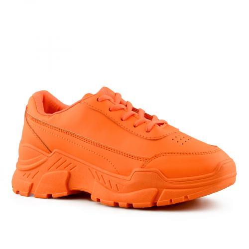 дамски ежедневни обувки оранжеви 0141103