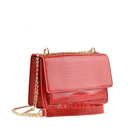 дамска ежедневна чанта червена 0139909